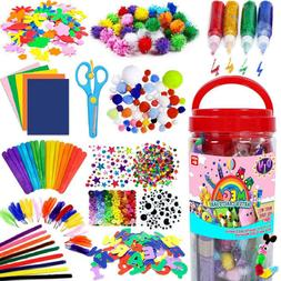 All in One Kids Arts and Crafts Supplies Kit DIY Crafting Co