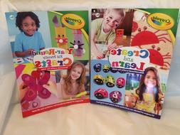 Books: crayola kids crafts books set of 2 total of 64 pages