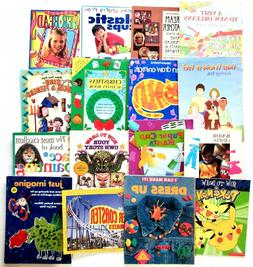 CHILDRENS BOOKS Lot of 16 Books: Activity & Crafts
