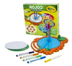 Crayola Color Spinout Playset for Kids. Authentic & New, Kid