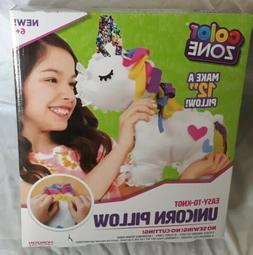 Color Zone DIY Unicorn Pillow Kids Childrens Toy Gift No Cut