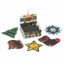 Melissa and Doug Scratch Art® Holiday Mini Notes #32040 NEW