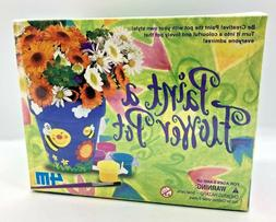4M Paint a Flower Pot Kit 4508, Crafts for Kids, BRAND NEW