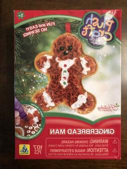 Orb Factory PLUSH CRAFT Fabric By Number GINGERBREAD Ornamen