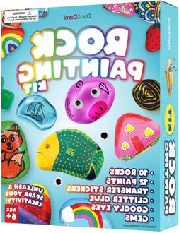 Rock Painting Kit for Kids - Arts and Crafts for Girls & Boy