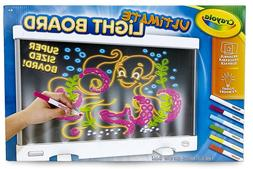 Crayola Ultimate Light Board, Drawing Tablet, Gift for Kids,